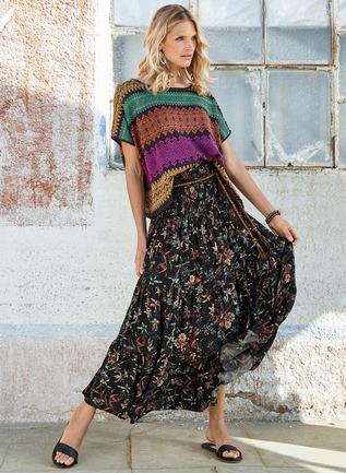 Mazatlan Maxi-Skirt