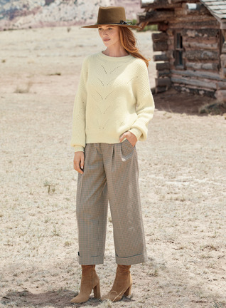 Berenson Cropped Trousers