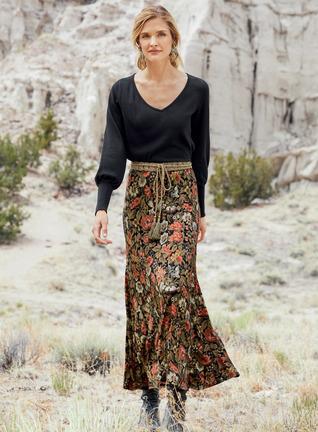 Wallpaper Maxi-Skirt