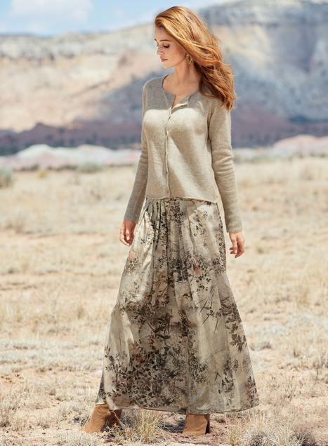 Hokkaido Maxi-Skirt