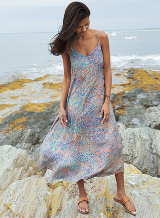 Seurat Slip Dress