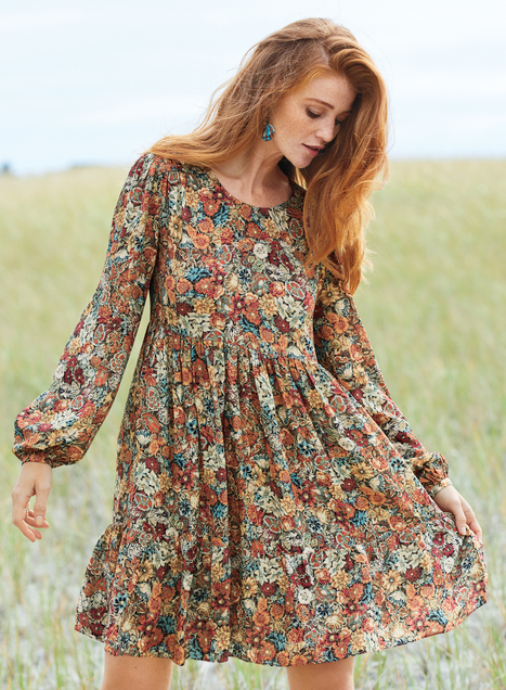 Vintage Blooms Dress