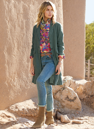Yarmouth Linen Duster
