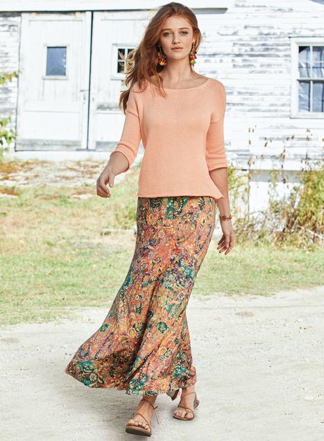 Kalimantan Maxi-Skirt