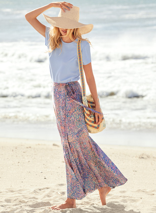 Seurat Maxi-Skirt