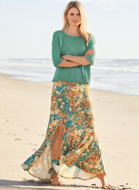 Montecito Maxi-Skirt