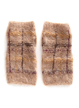Alpine Alpaca Fingerless Gloves