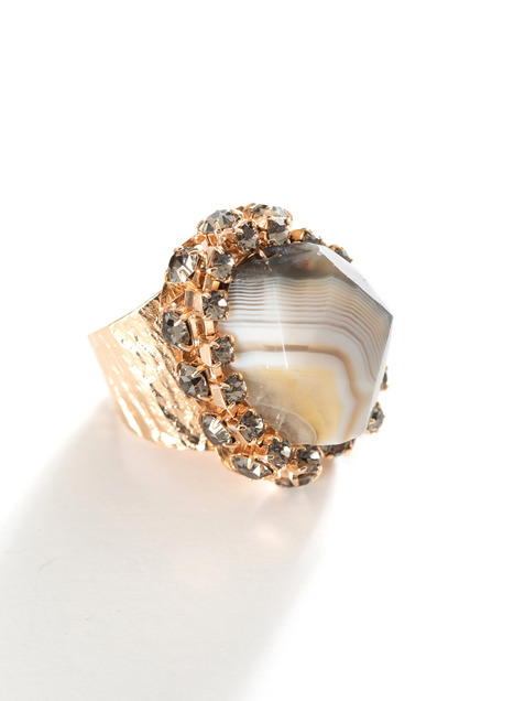 Viola Cocktail Ring