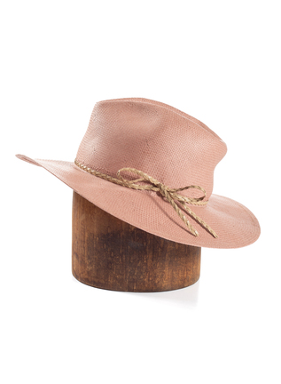 Pink Sands Straw Hat
