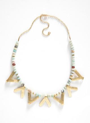 Qala Amazonite Bead Necklace