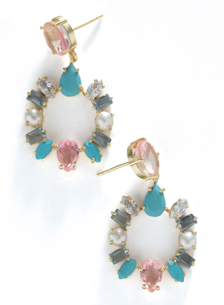 Candied Gem Earrings