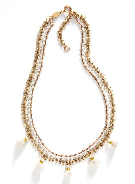 Priya Double-Strand Necklace