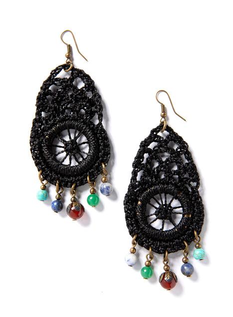 Zaria Crocheted Earrings