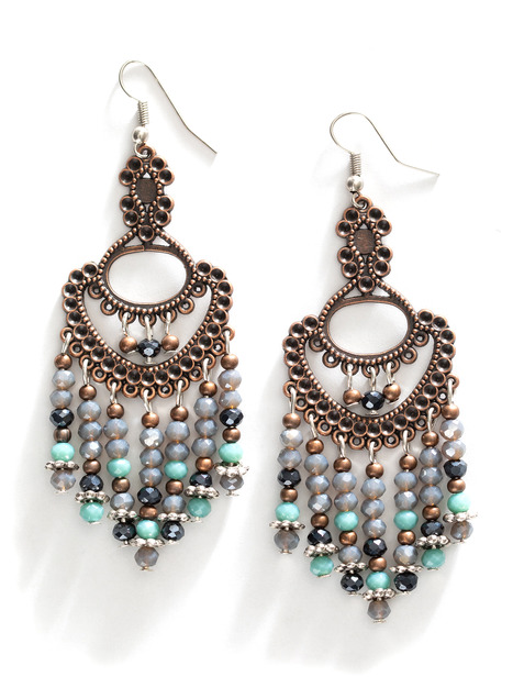 Blue Nile Filigree Earrings