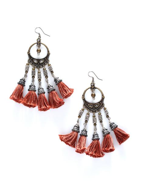 Himalayan Tassel Earrings