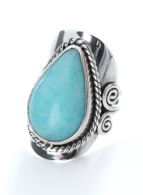Seascape Cocktail Ring