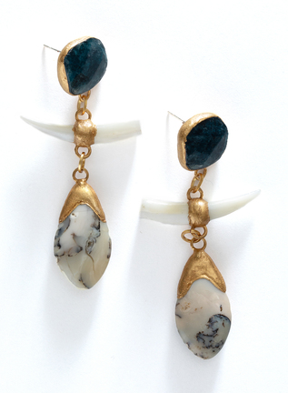 Paleolithic Earrings