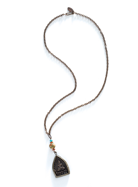 Contemplative Buddha Necklace
