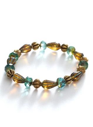 Glistening Sky Stretch Bracelet