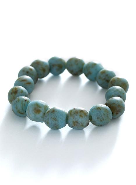 Beach Glass Stretch Bracelet