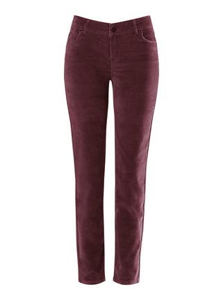 Skinny Velveteen Pants