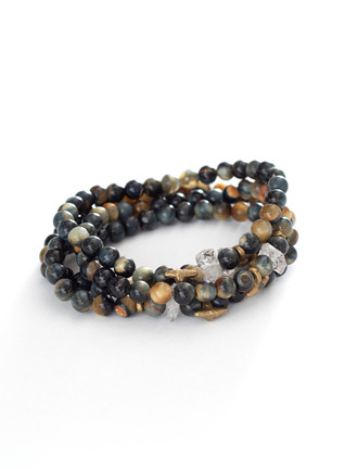 Bijoux Stretch Bracelets, Set Of 4