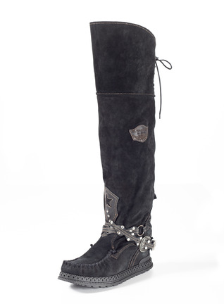 Suede Huntress Boots