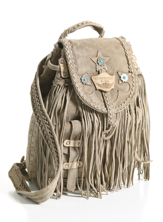 Sienna Fringe Backpack