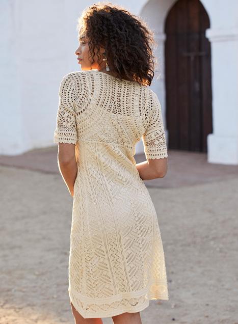Maribella Pima Cotton Dress - Occasion & Cocktail Dresses - Dresses -  Peruvian Connection