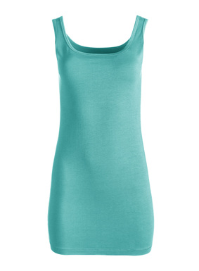 Our bestselling, all-season Long Tank is a wardrobe building block in pima (95%) and Lycra® (5%). To be worn long and lean or scrunched to suit your needs.