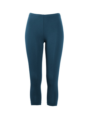 Our ever-popular pima (95%) and Lycra (5%) jersey leggings, offered in a cropped length for warm weather.