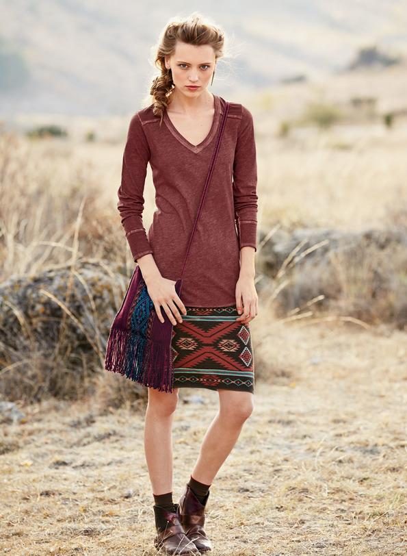 Bryce Canyon Pima Cotton Skirt