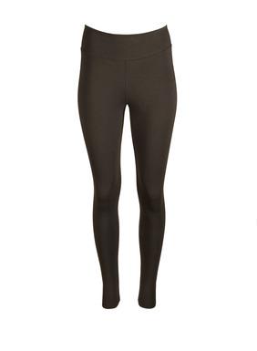 Die samtweichen Jersey-Leggings aus einem festeren Gewebe aus Pimabaumwolle (44 %), Modal (44 %) und Elasthan (12 %) haben eine Kontur-Passe und Nähte hinten.