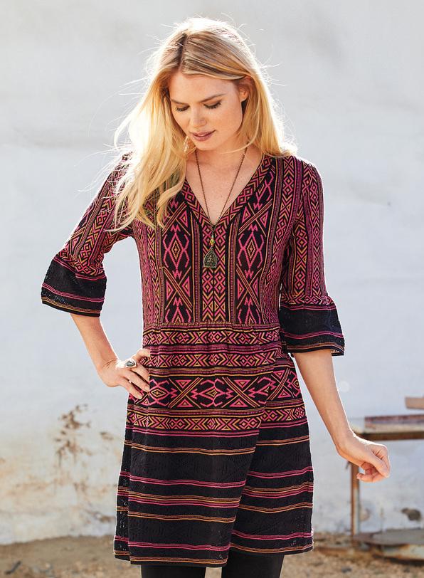 Ondine Pima Cotton Tunic-Dress