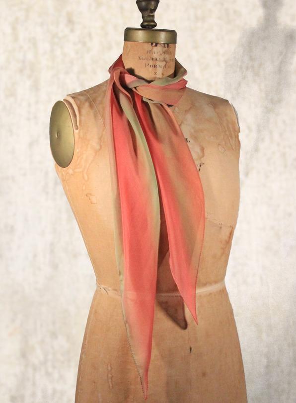Tourmaline Silk Scarf