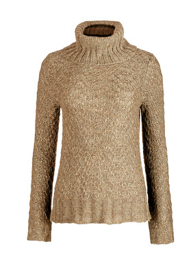 Luxuriously low-key, our super-soft and frothy Chalet Cowlneck is knit in a textural tuck stitch with relaxed ribbed trim cowl, hem and gently belled sleeves. Pima (60%), baby alpaca (24%), nylon (14%) and wool (2%).