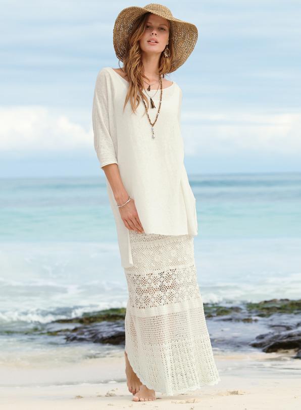 Cozumel Pima Cotton Skirt