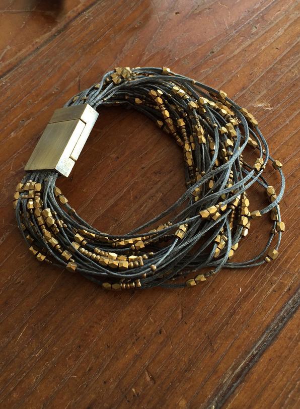Brass Multi-Strand Bracelet