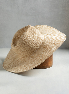 "It's the perfect summer sunhat. Woven in natural-hued straw, our Siesta Key hat features a 5"" wide brim for extra shade, and looks incredible with  dresses, skirts, and casual styles alike."